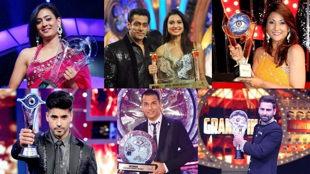 Bigg Boss Winners Of Every Season Bigg Boss Season 13